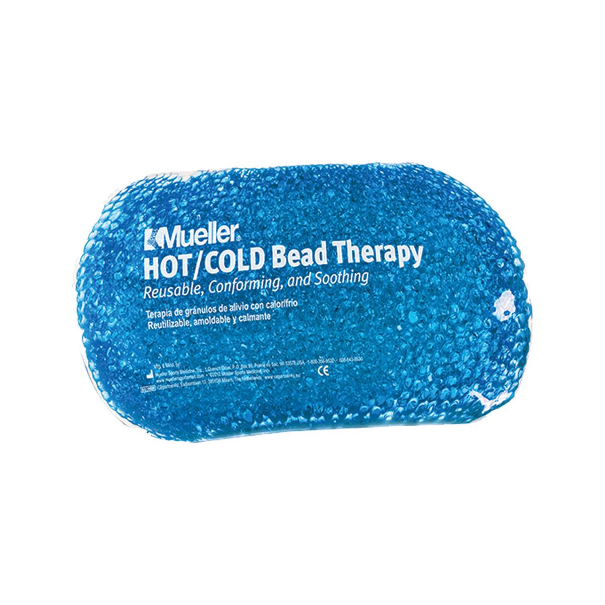 Mueller chladivý/hřejivý polštářek gelové kuličky modrý 24x11
