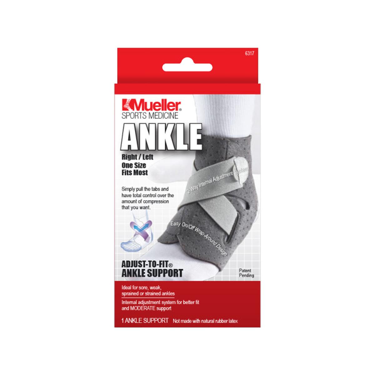 Mueller Adjust-to-Fit Ankle Support, ortéza na kotník