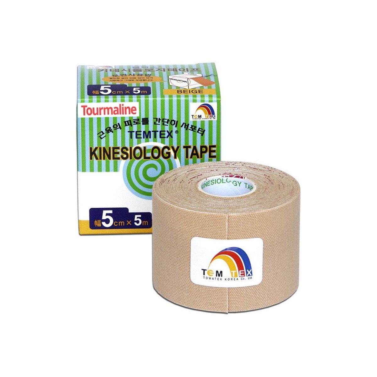 Temtex kinesio tape Tourmaline béžová 5cm x 5m