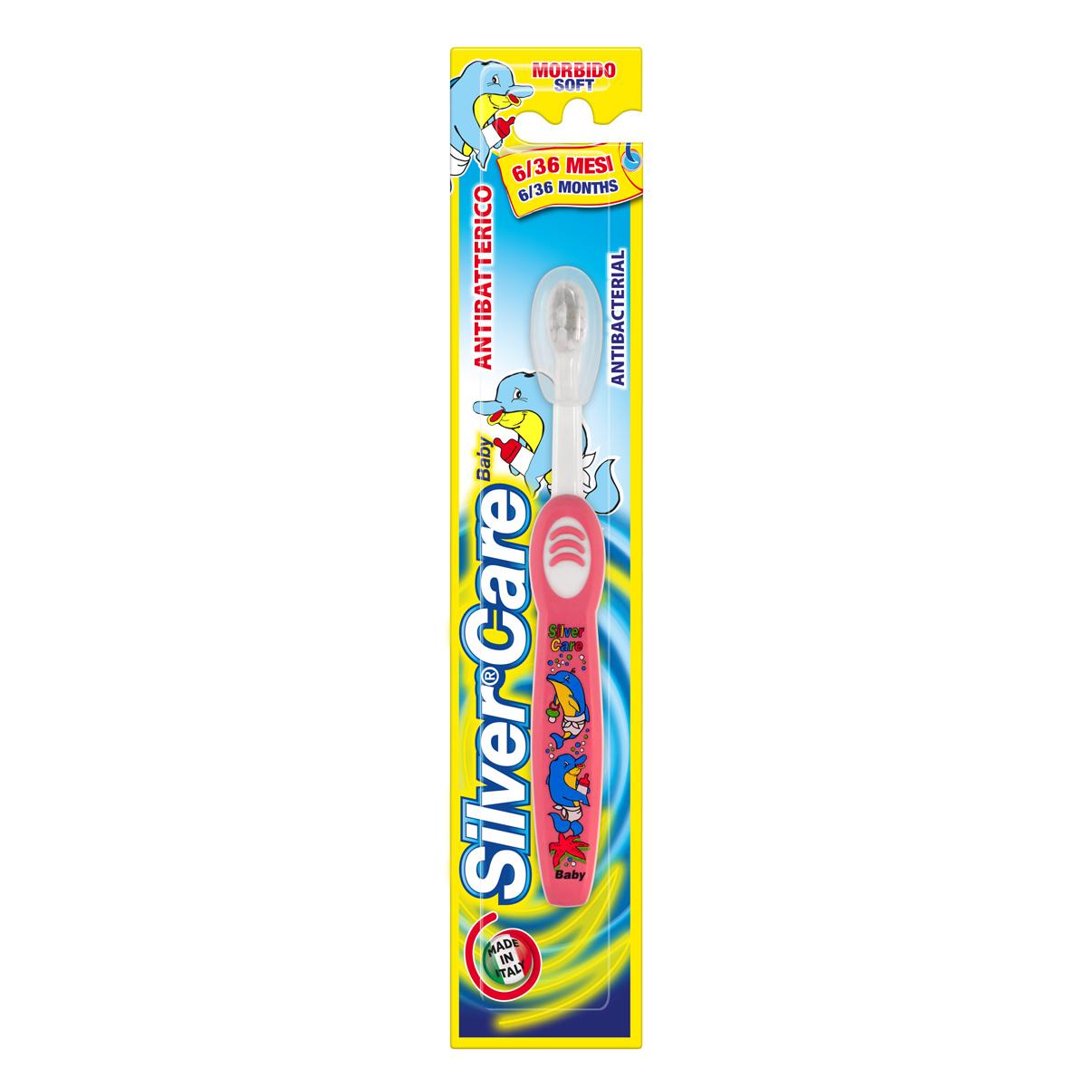 SilverCare Dětský zubní kartáček 6 - 36 měsíců měkký