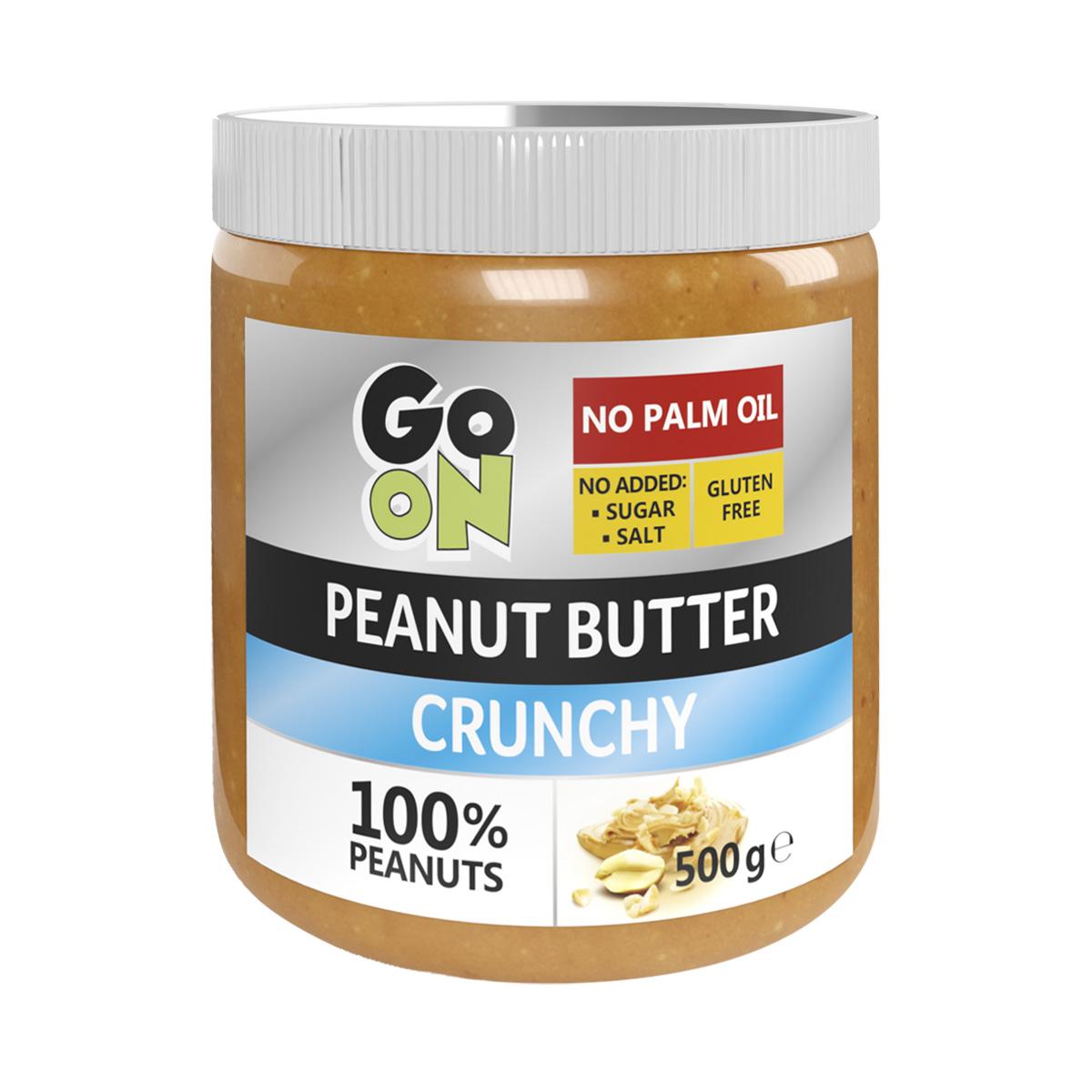 Vieste GO ON Arašídové máslo s kousky arašídů 500 g