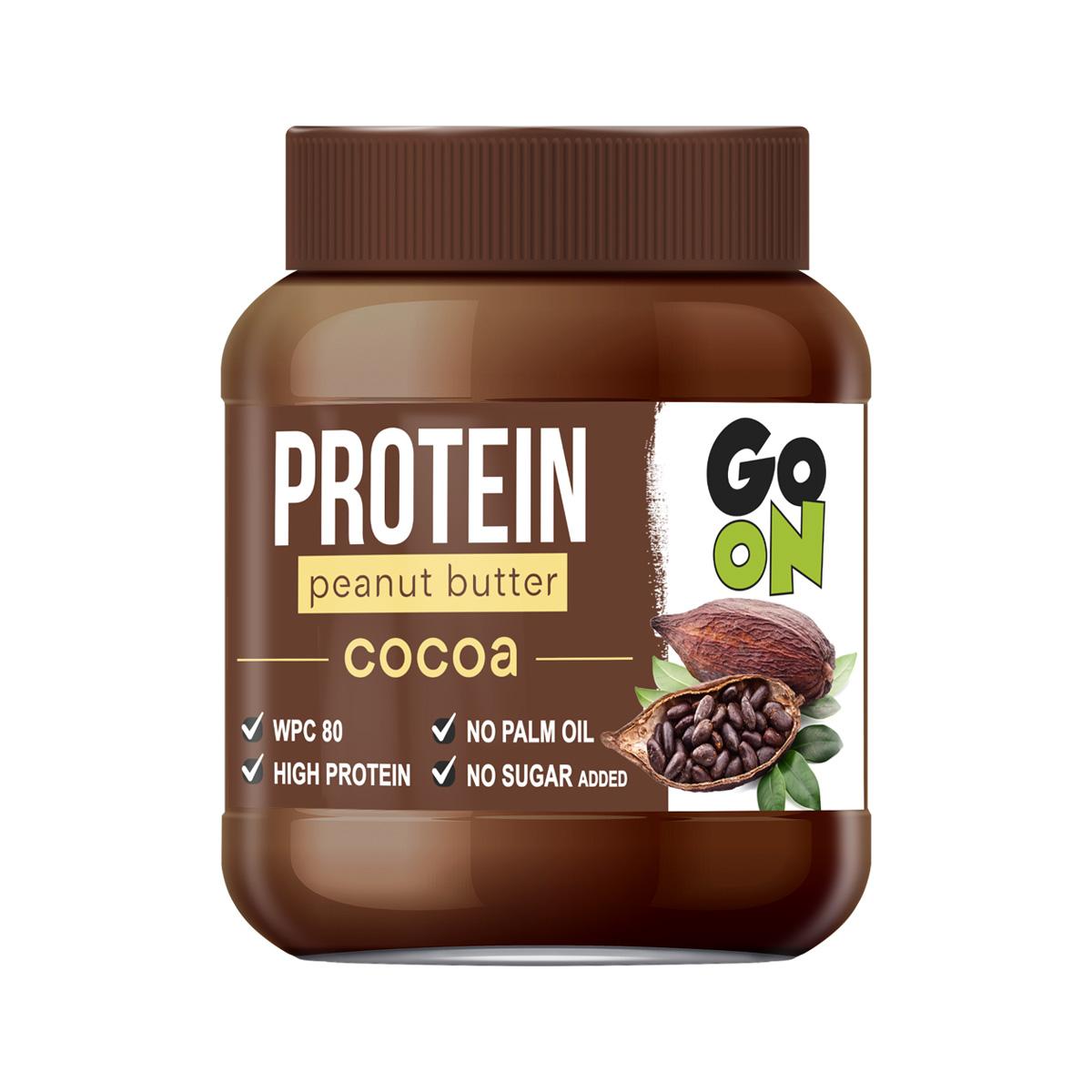 Vieste GO ON Proteinové arašídové máslo kakao 350 g