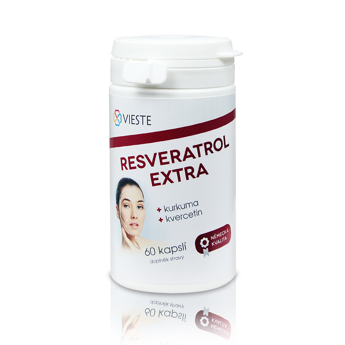 Vieste Resveratrol extra 60 cps