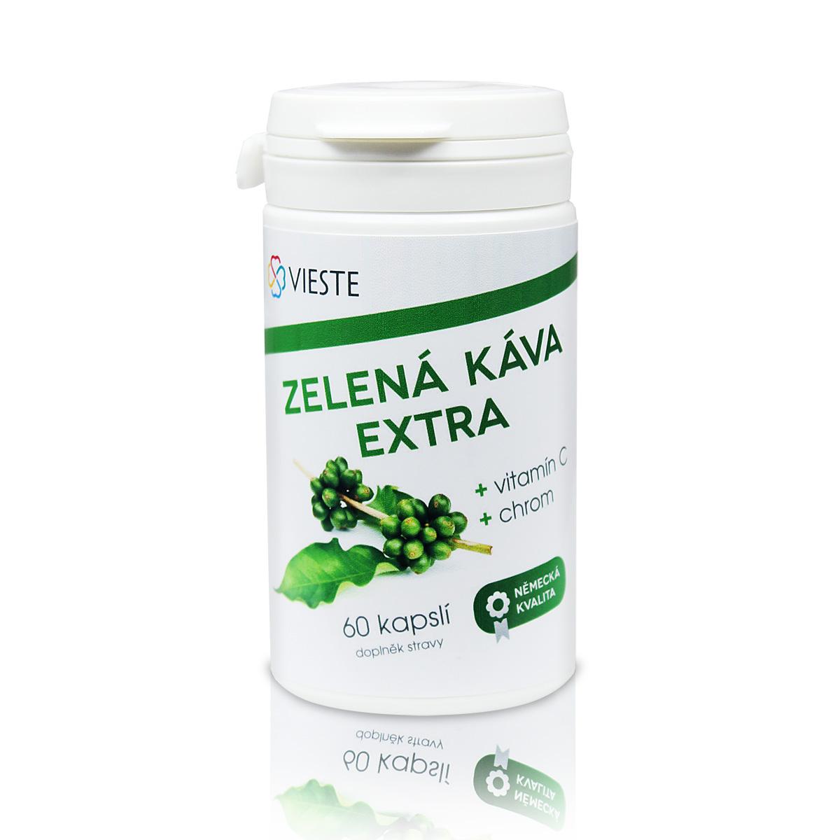 Vieste Zelená káva extra 60 cps